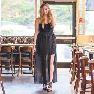 Kismet Black Lace Dress